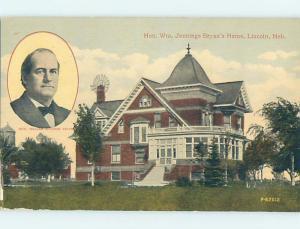 Divided-Back HISTORIC HOME Lincoln Nebraska NE W4890