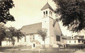 USA Christian Reformed Church Sheldon Iowa RPPC 05.74