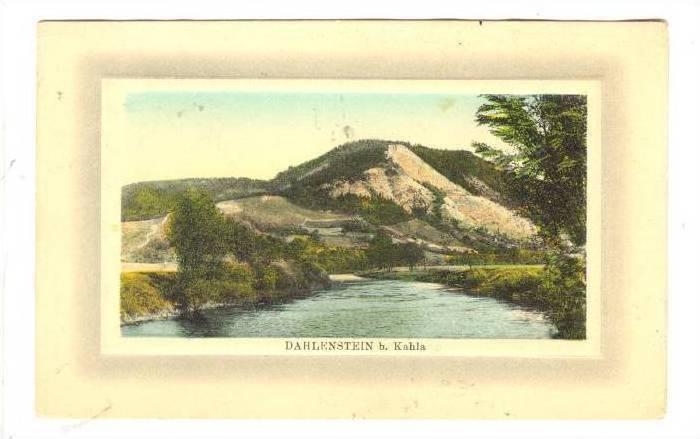 Framed, Dahlenstein, b. Kahla, Thuringia, Germany, 00-10s
