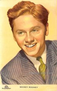 Mickey Rooney Movie Star Actor Actress Film Star Postcard, Old Vintage Antiqu...