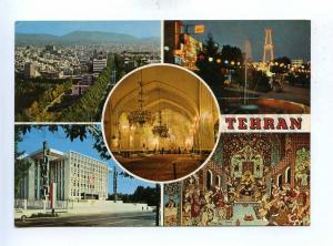 192996 IRAN TEHERAN 5 views old photo postcard