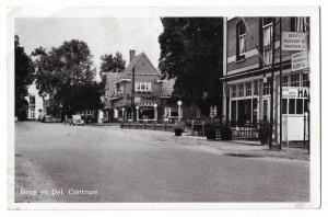 Berg en Dal Centrum Holland vintage postcard 01.12
