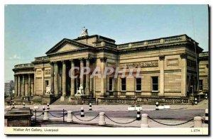 Postcard Modern Walker Art Gallery Liverpool
