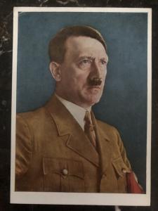 Mint Germany Picture  Postcard PPC Hitler portrait H knirr paint