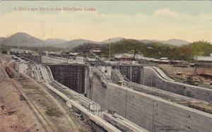 A Bird's Eye View Of The Miraflores Locks, Panama, PU-1918