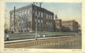 High School - Athol, Massachusetts MA
