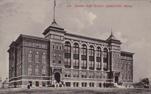 Maine Lewiston Jordan High School