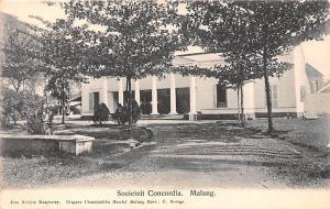 Malang Indonesia, Republik Indonesia Societeit Concordia Malang Societeit Con...