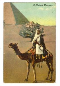 Man on camel, Plateau of Nedjid, Arabia, 00-10s