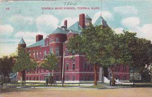 Exterior, Topeka High School, Topeka,  Kansas, PU-00-10s