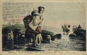 S. Kensington After Jenkins Fishing Old Vintage Antique Postcard Post Card  S...
