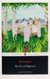 Epicurus The Art Of Happiness Penguin 2012 Book Postcard