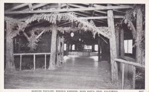 Dancing Pavilion, Sequoia Gardens, NEAR SANTA CRUZ, California, 40-60´s