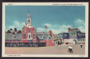 Colonial Village,Chicago World's Fair
