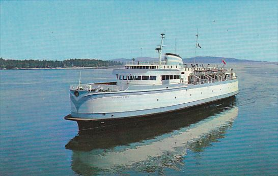 Canada Ferry M V Queen Of Tsawwassen British Columbia Ferries