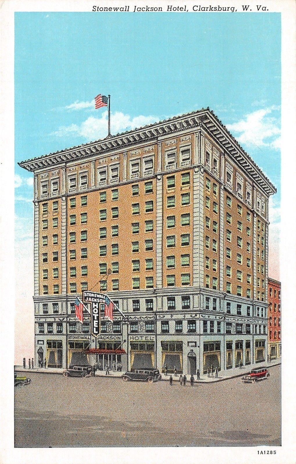 Clarksburg West Virginia~Stonewall Jackson Hotel~1940s Rex Heck News