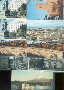 pc11337 postcard Chile EIGHT none postally used