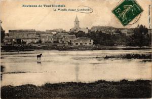 CPA Le Moselle devant Gondreville (276789)