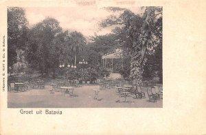 Groet uit Batavia Indonesia, Republik Indonesia Unused