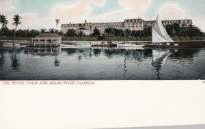 MIAMI , Florida , 1901-07 ; The Royal Palm & Miami River