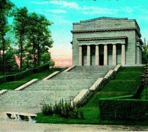 Lincoln Memorial Hall Hodgenville Kentucky KY UNP 1920s Vtg Postcard