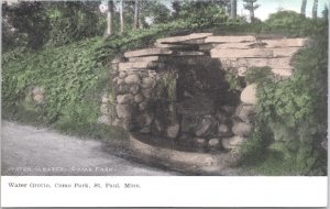St Paul Minnesota Water Grotto Como Park