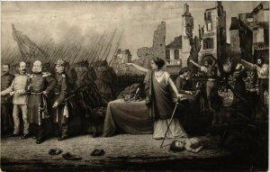 CPA MILITAIRE La Paix signée, la France crie Vengeancel (317676)