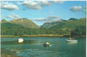 UK, Loch Leven, Argyll, unused Postcard