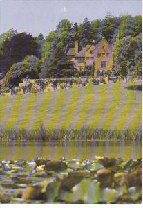 England House Seen From Across The Lake Kent Chartwell