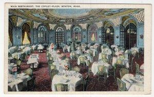 Boston, Mass, Main Restaurant, The Copley - Plaza