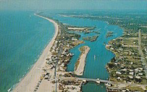 Florida Nokomis Beach Aerial View
