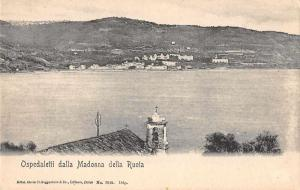 Ospedaletti Italy from Madonna della Ruota Scenic View Antique Postcard J74331