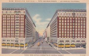 California Los Angeles The New Rosslyn Hotels Curteich
