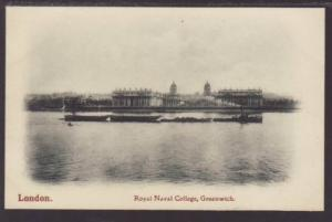 Royal Naval College Greenwich London England Postcard 4611
