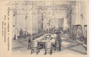 Palacio de Correos y Telegrafos,Hall de Extranjeros, Buenos Aires, Argentina ...