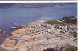Elk Falls Pulp & Paper Mill, Campbell River , Vancouver Island , B.C. , Canad...