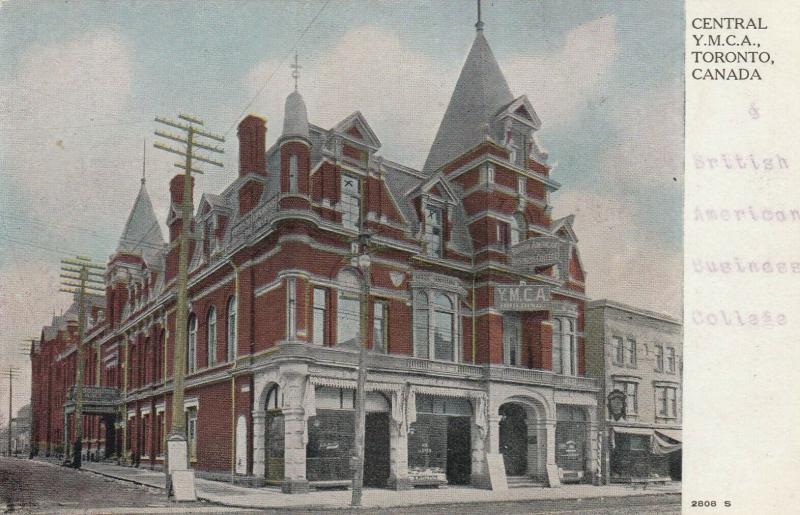 TORONTO, Ontario , 1900-10s ; Central Y.M.C.A.