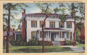 First White House House Of The Confederacy Montgomery Alabama 1943