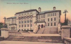 Massachusetts Waliace Way And High School
