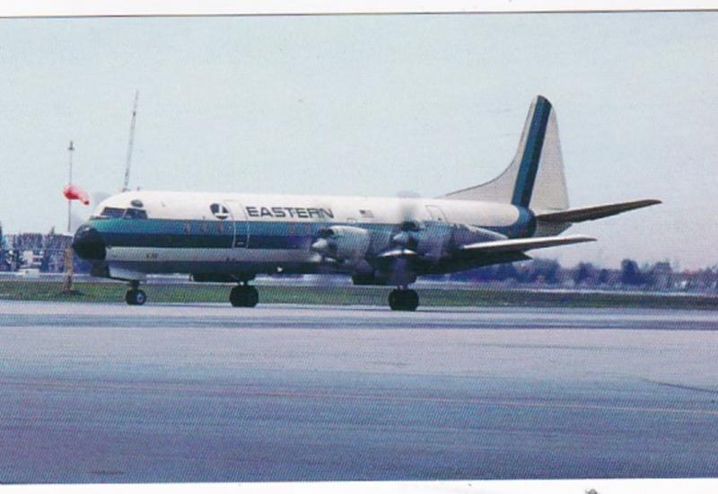 Eastern Airlines Lockheed L-188