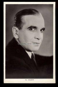 b1612 - Film Actor - Al Jolson - Picturegoer No.394 - postcard