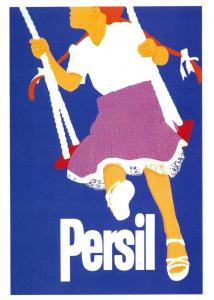 Postcard Persil - Swing - Reproduction Poster Advertising Card F50