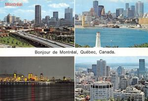 Canada Bonjour de Montreal Quebec The St Lawrence River General view