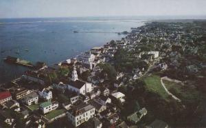 Aerial View of Provincetown MA, Cape Cod, Massachusetts