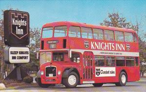 Knights Inn Double DEcker Bus , 50-60s