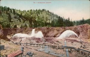 Hydraulic mining industry USA