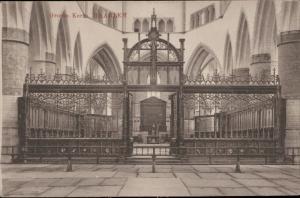 Groote Kerk Haarlem Netherlands interior