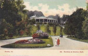 Illinois Peoria Pavilion At Bradley Park