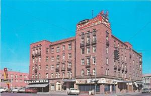 Idaho Falls Idaho~Bonneville Hotel~Starlite lounge~Coffee Shop~Parking Lot~1950s