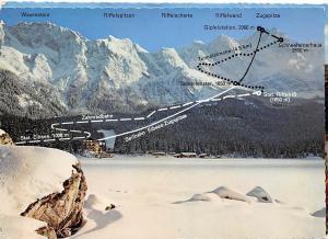 Bad Kissingen Blick auf den Rosengarten Zahnradbahn Seilbahn Winter Berg